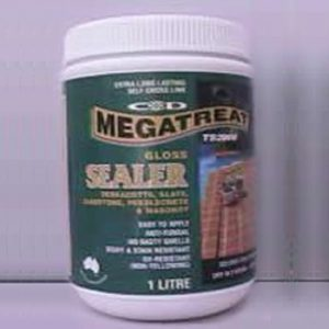 Megatreat Gloss Concrete Sealer in Sydney and Nelson Bay