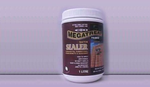 Megatreat Satin Concrete Sealer in Sydney and Nelson Bay
